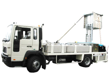 Toilet servicing vehicle Sovam VT 941