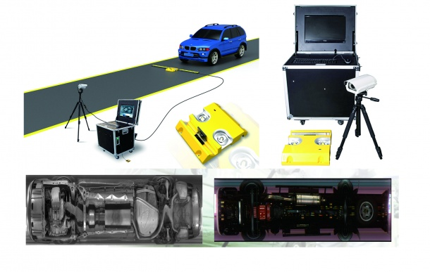 Under Vehicle Surveillance System AT3000