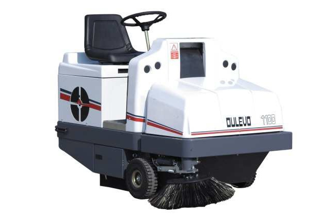 Sweeper model 1100 EH, 1100 BS, 1100 DL