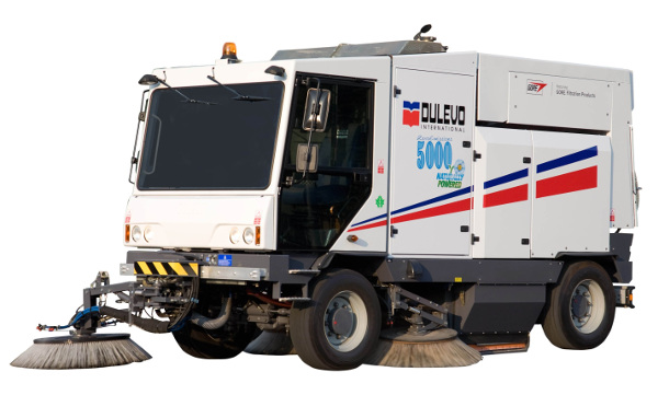 Road sweeper model 5000 Zero Emissions
