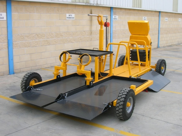 Ramp Multiservice Carts