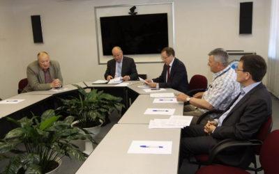 Представители компании на производственном совещании Дальневосточного МТУ ВТ Росавиации