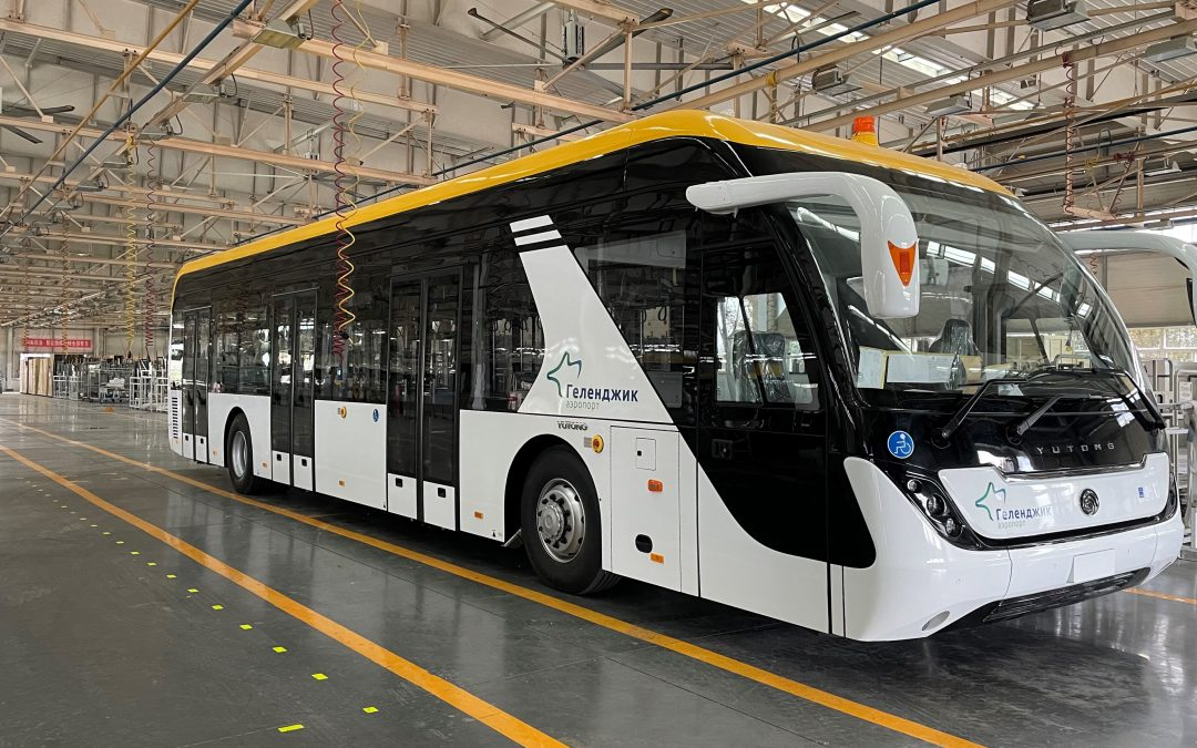 Компанией Торговый Дом ЭЙРФЛОТ ТЕХНИКС реализован проект по поставке перронных автобусов в аэропорт Геленджика